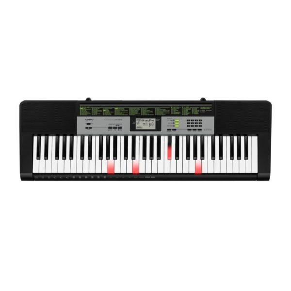 Casio LK-135 Portable Keylighting Keyboard Black