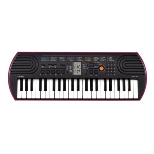 Casio SA 78 Mini 44 Key Portable Keyboard