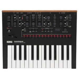Korg Monologue Analogue Synthesizer Black
