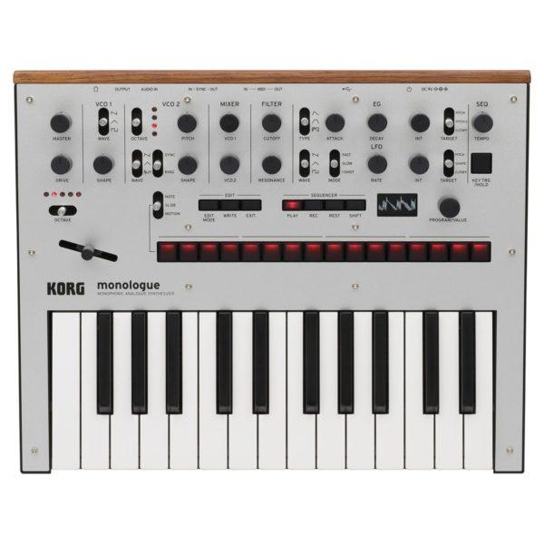 Korg Monologue Analogue Synthesizer Silver