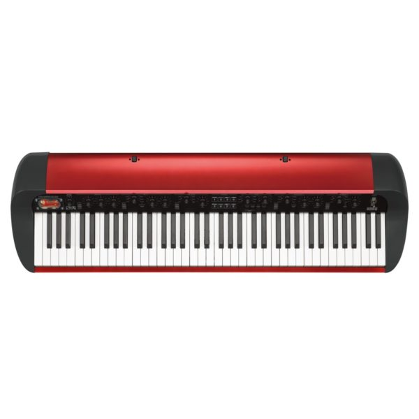 Korg SV-1 73 Note Stage Vintage Piano Metallic Red