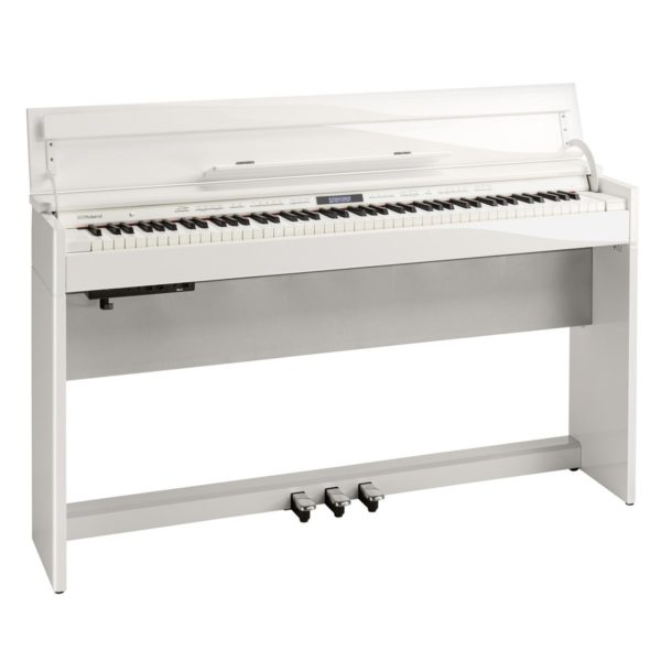 Roland DP603 Digital Piano Polished White