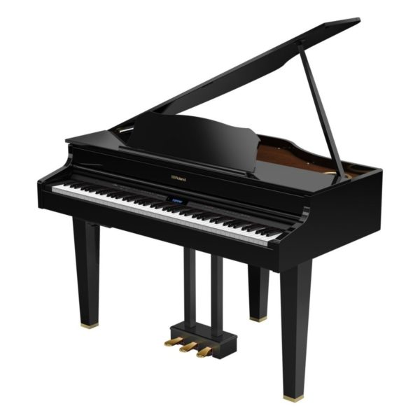 Roland GP607 Digital Grand Piano Polished Ebony