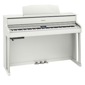 Roland HP605 Digital Piano White