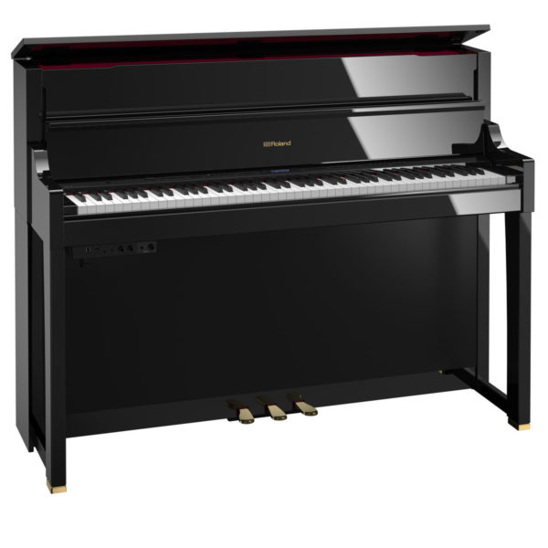 Roland LX17 Digital Piano Polished Ebony