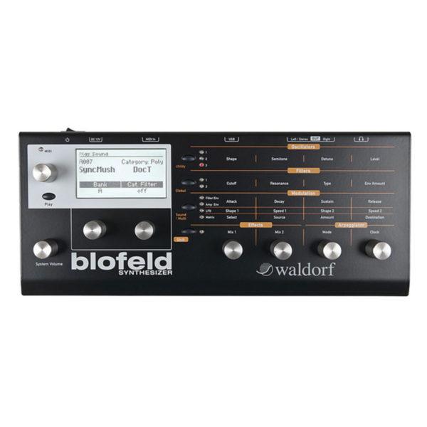 Waldorf Blofeld Synthesizer Black