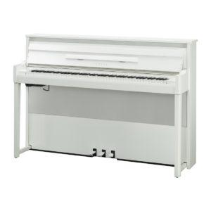 Yamaha Avantgrand NU1X Hybrid Digital Piano Polished Brilliant White