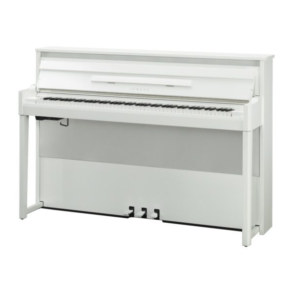 Yamaha Avantgrand NU1X Hybrid Digital Piano Polished Brilliant White