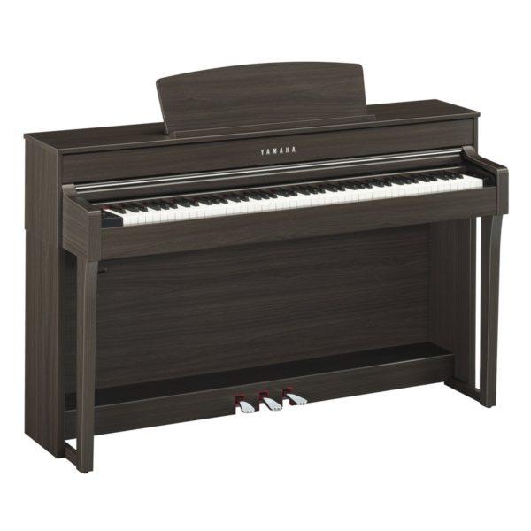 Yamaha CLP 645 Digital Piano Dark Walnut