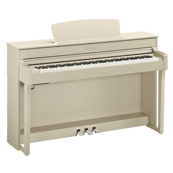 Yamaha CLP 645 Digital Piano White Ash