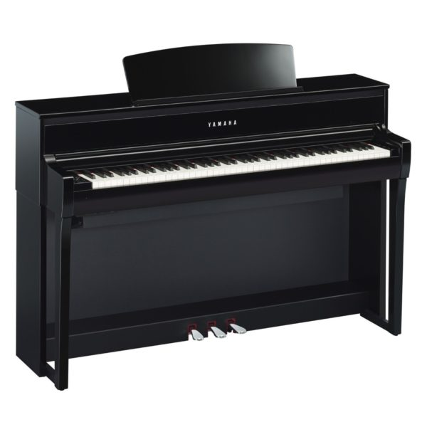 Yamaha CLP 675 Digital Piano Polished Ebony