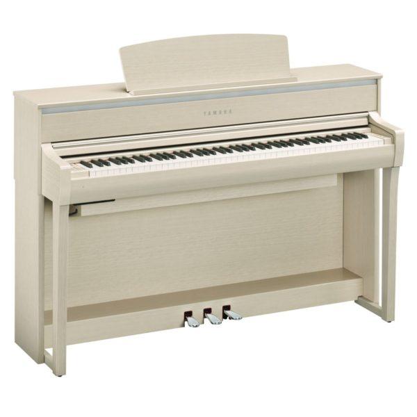 Yamaha CLP 675 Digital Piano White Ash