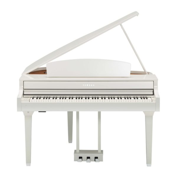 Yamaha CLP 695 Digital Grand Piano Polished White