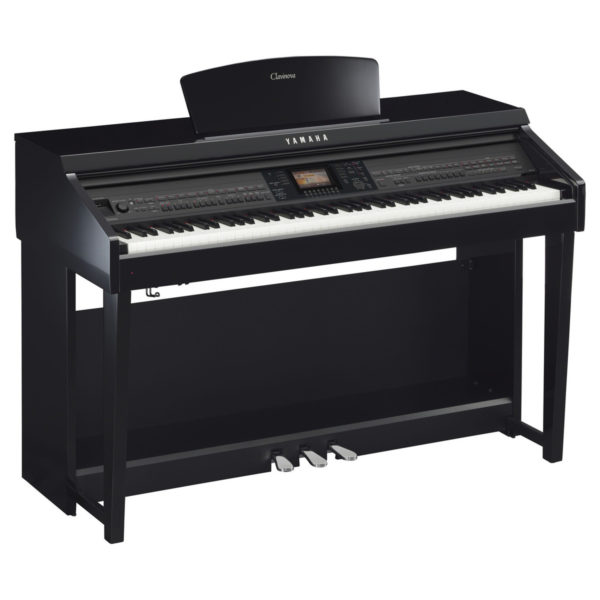 Yamaha CVP 701 Clavinova Digital Piano Polished Ebony