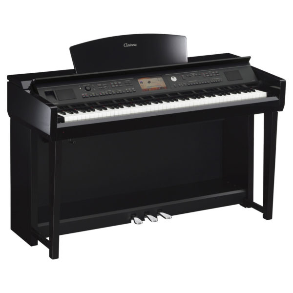 Yamaha CVP 705 Clavinova Digital Piano Polished Ebony