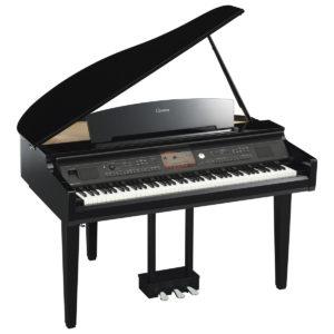 Yamaha CVP 709 Clavinova Digital Grand Piano Polished Ebony