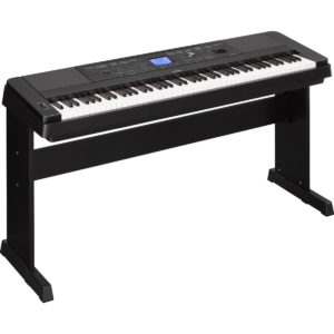 Yamaha DGX 660 Digital Piano with Stand Black