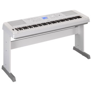 Yamaha DGX 660 Digital Piano with Stand White