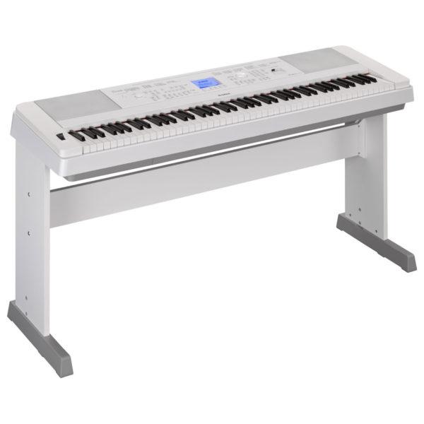 Yamaha DGX 660 Digital Piano with Stand White