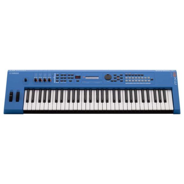 Yamaha MX61 II Music Production Synthesizer Blue