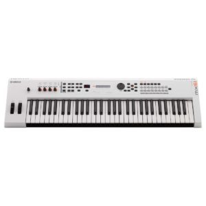 Yamaha MX61 II Music Production Synthesizer White