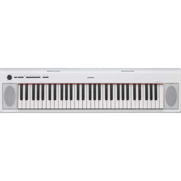 Yamaha Piaggero NP12 Portable Digital Piano White