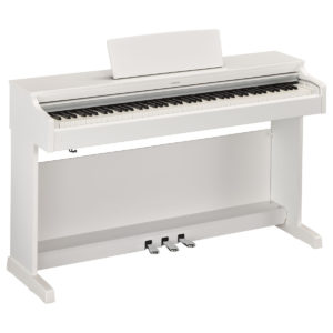 Yamaha YDP 163 Digital Piano Satin White