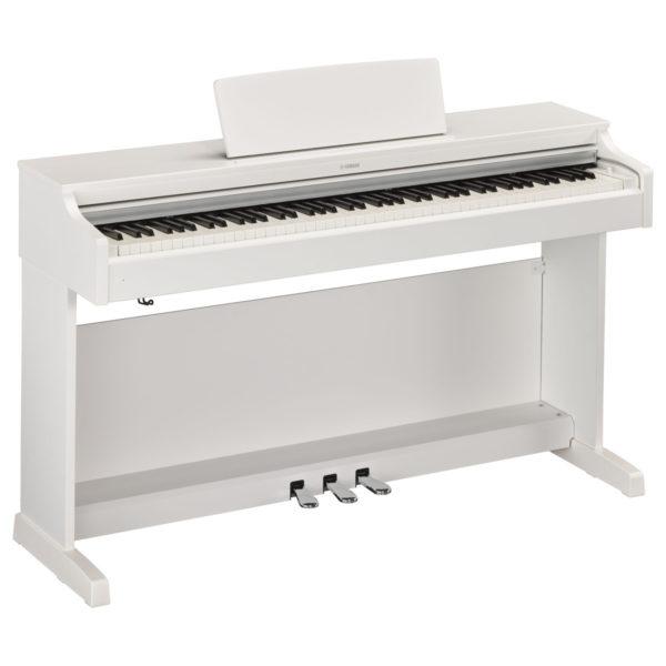 Yamaha YDP 163 Digital Piano Satin White