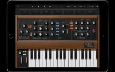 Minimoog iPad App Released