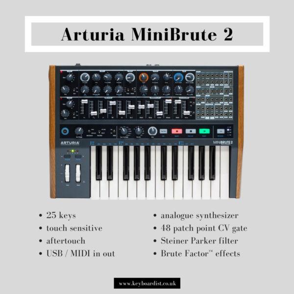 Arturia MiniBrute 2