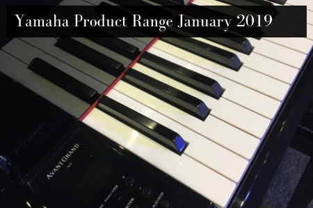 Yamaha Product Range January 2019