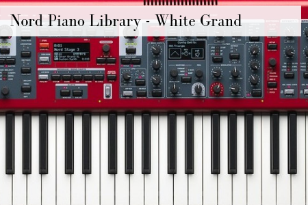 Nord Piano Library - white Grand