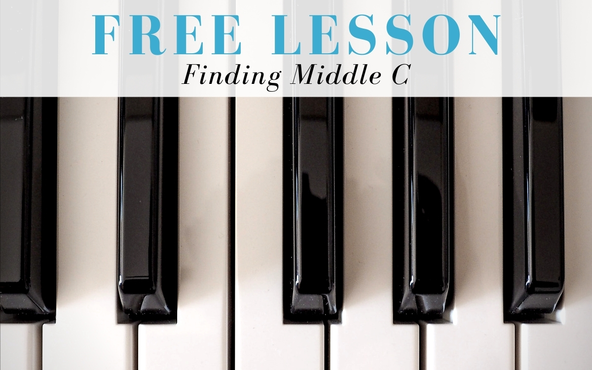 Keyboardist Free Lesson - Finding Middle C