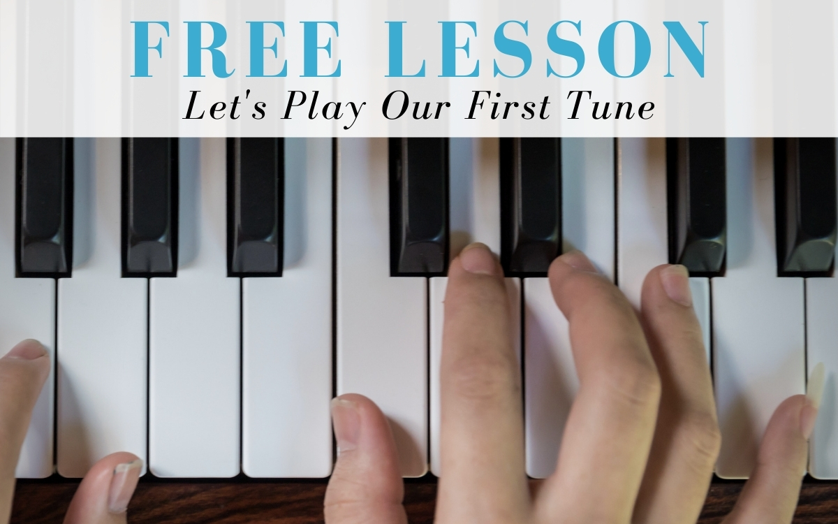 Keyboardist Free Lesson - Let's Play Our First Tune