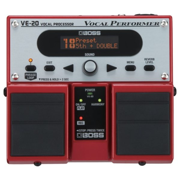 Boss VE-20 Vocal Performer Vocal Effects Processor