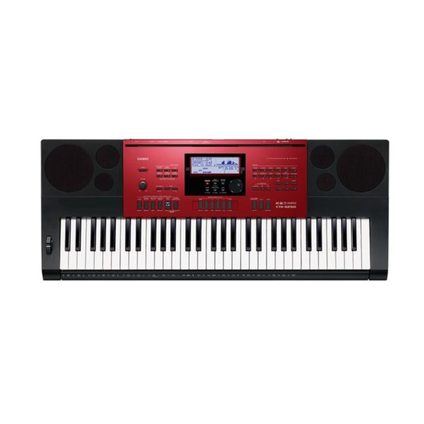 Casio CTK-6250 Portable Keyboard Black and Red
