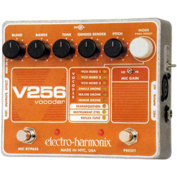 Electro Harmonix V256 Vocoder with Reflex-Tune