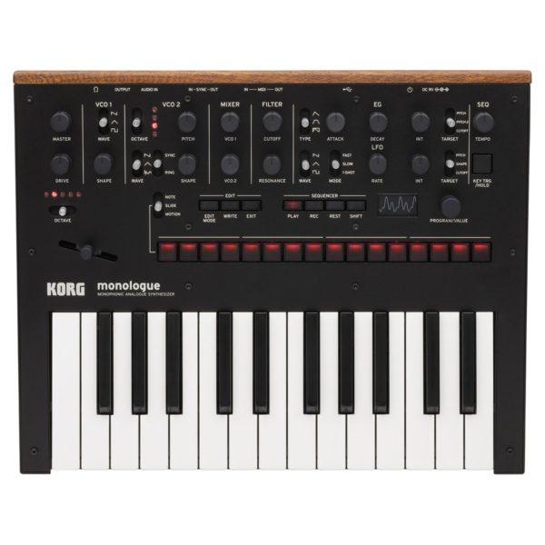 Korg Monologue Analogue Synthesizer Black
