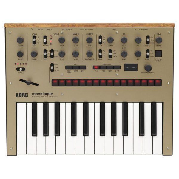 Korg Monologue Analogue Synthesizer Gold