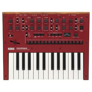 Korg Monologue Analogue Synthesizer Red