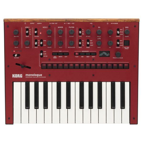 Korg Monologue Analogue Synthesizer Red