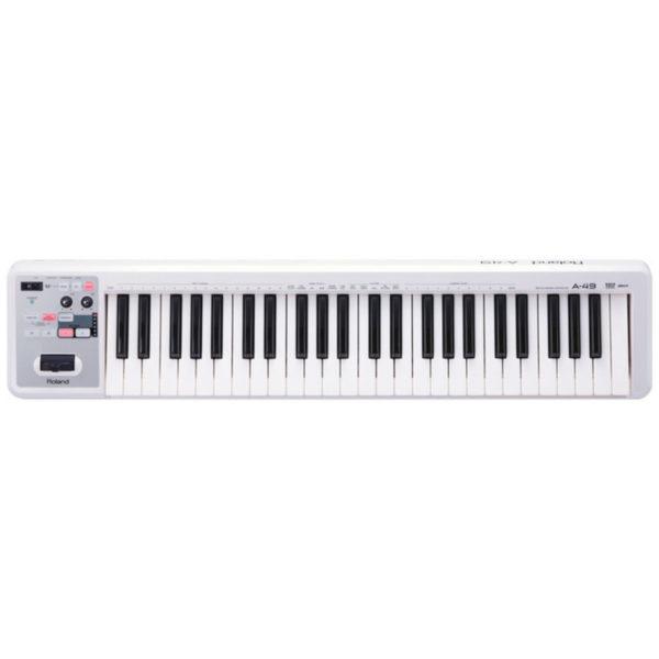 Roland A-49 MIDI Controller Keyboard White