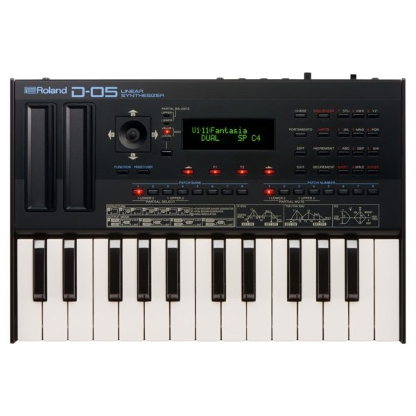 Roland D-05 Linear Synthesizer With Roland K-25m Keyboard