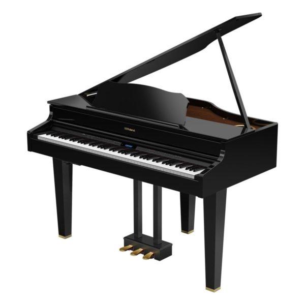 Roland GP607 Digital Grand Piano Polished Ebony