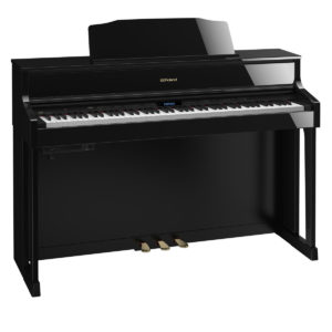 Roland HP605 Digital Piano Polished Ebony