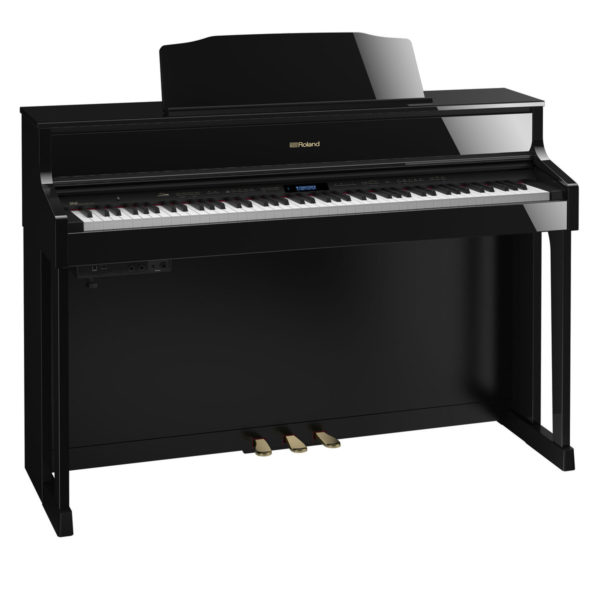 Roland HP605 Digital Piano Polished Ebony