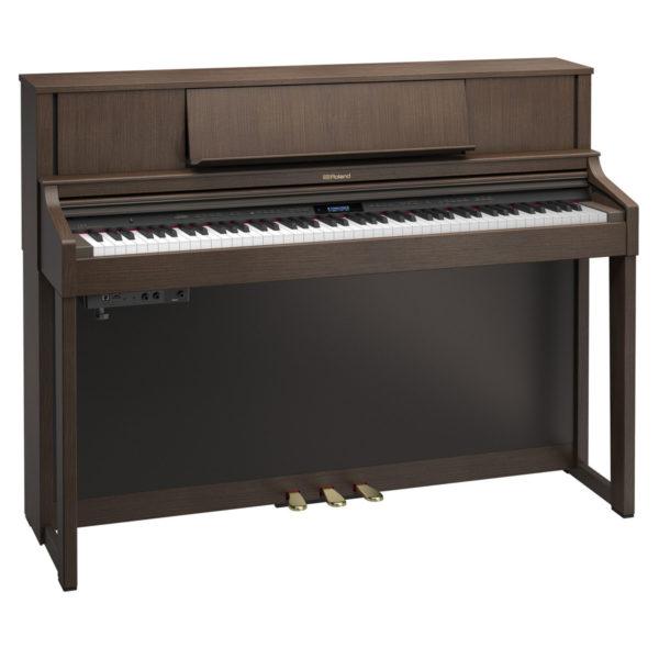 Roland LX7 Digital Piano Brown Walnut