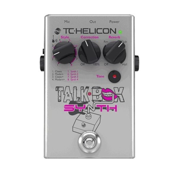 TC Helicon Talkbox Synth Vocal Effects Pedal