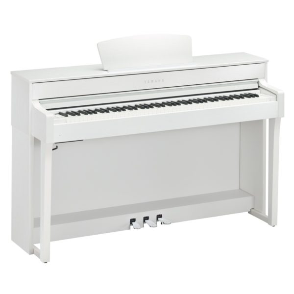 Yamaha CLP 635 Digital Piano Satin White