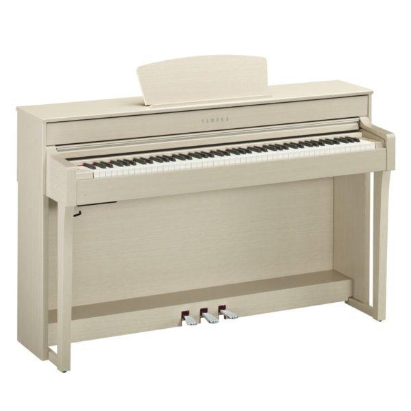 Yamaha CLP 635 Digital Piano White Ash